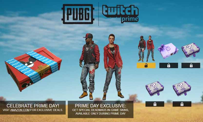 Twitch Prime EDM BOX
