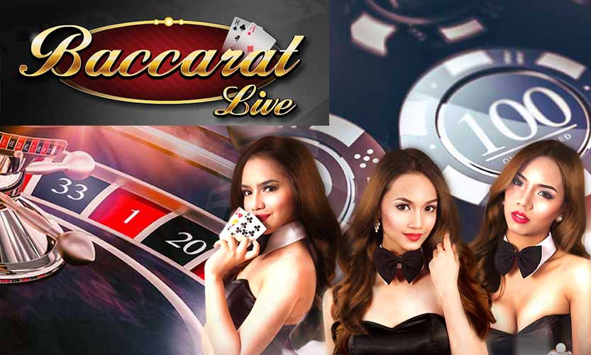 live baccarat game red