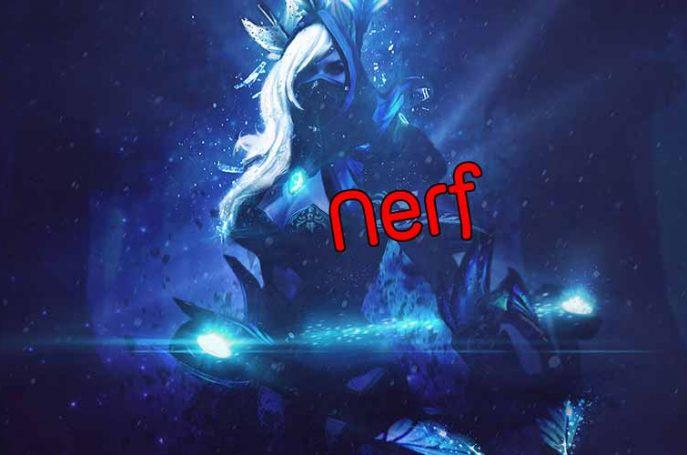 Nerf Drow Ranger dota